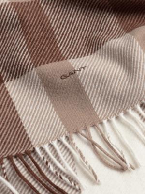 Accessoires Écharpe à carreaux