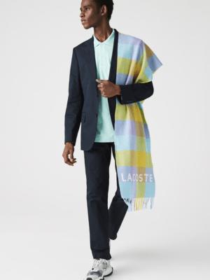 Accessoires Écharpe unisexe en laine à carreaux colorés