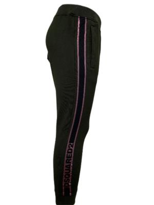 Dsquared2 pantalon à bande logo
