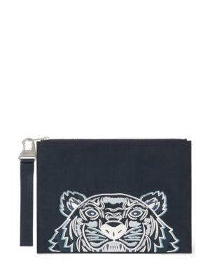 Accessoires Pochette Kampus Tigre en toile