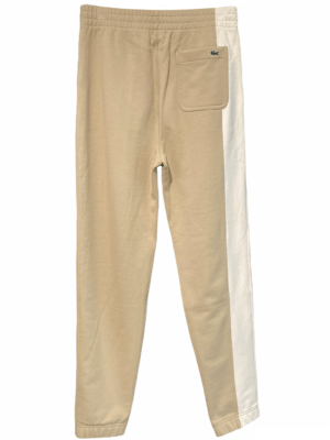 Lacoste Live Pantalon de jogging unisexe en molleton de coton biologique