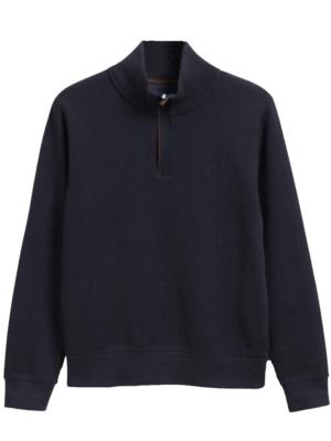 Gant Sweat-shirt à demi-zip Sacker Rib