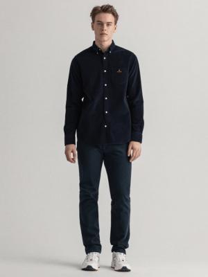 Chemises Chemise en velours côtelé coupe classique