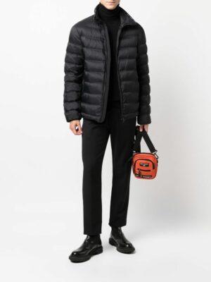 Marques veste matelassée à fermeture zippée