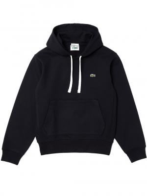 Lacoste Live Sweatshirt à capuche unisexe en molleton de coton biologique
