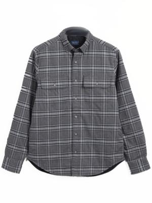 Chemises Surchemise matelassée à carreaux